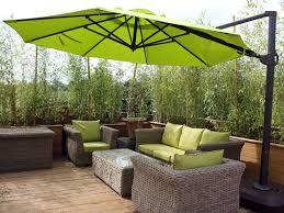 octagonal tilting cantilever parasol