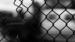 Text Quotes Grayscale Chain Link Fence Comrade Wallpapers