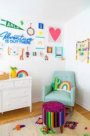 Colorful Kids Nursery Rainbow Room Home Design Ideas Cool Kids Bedrooms Kid Room Decor Kids Rooms Diy