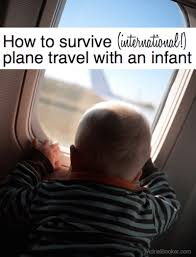 plane travel with a baby