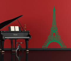 Eiffel Tower French Vinyl Decor Wall Decal Customvinyldecor Com