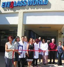 eyeglass world celebrates ribbon