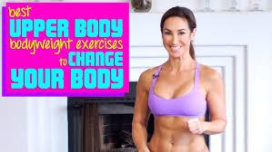 upper body exercises using bodyweight
