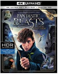Fantastic Beasts and Where to Find Them 4K Blu-ray