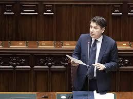 Giuseppe Conte oggi alle Camere: il discorso in diretta