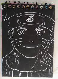 Black and white Naruto : Naruto