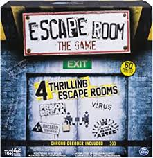 Amazon Com Spin Master Games Escape Room The Game Toys Games