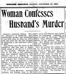 Addie Bennett Mahair-woman confesses to husbands murder - Newspapers.com