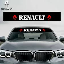 Car Stickers Reflective Decoration Decals Car Styling Fashion Front Rear Windshield Decal Sticker For Renault Duster Megane 2 Windshield Sunshades Aliexpress