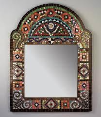 mirror mosaic ideas mosaic mirror