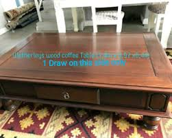 wetherlys wood coffee table kuils