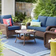 hampton bay cambridge brown wicker