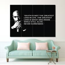 2pac Quote Block Giant Wall Art Poster