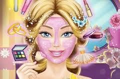 play barbie wedding makeup games