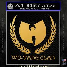 Wu Tang Clan Roman Decal Sticker A1 Decals