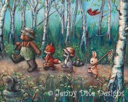 Woodland Nursery Decor Kids Room Decor Baby Forest Animals Etsy