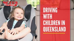 driving with children in queensland