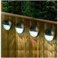 Best Price 4 X Led Solar Power Garden Fence Lights Wall Light Patio 11 99 At Ebay Latestdeals Co Uk