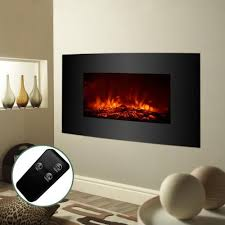 remote control fireplace heater