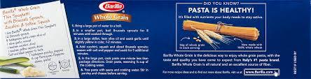 barilla whole grain spaghetti 13 25 oz