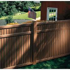 Bufftech Imperial Select Cedar Textures Vinyl Fence Sections