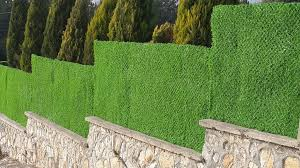 Garden Border Fence It Can Be Also Dyed To Any Colour By Grass Fence Panel Medium