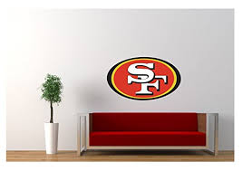 Large San Francisco 49ers Wall Sticker L Buy Online In Bahamas At Desertcart