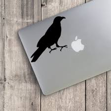 Crow Silhouette V2 Custom Vinyl Decal Sticker Choose Your Color And Size Crow Decal Crow Sticker Halloween Custom Vinyl Decal Custom Vinyl Vinyl Decals