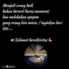 menjadi orang baik bukan quotes writings by erna r yourquote