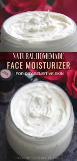 diy face moisturizer for sensitive skin