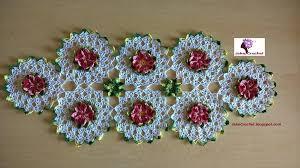 camino mesa crochet facilisimo