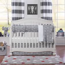 elephants perless crib bedding