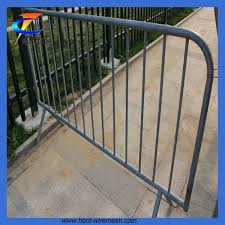 Mobile Barrier Fence Pvc Iron Portable Fence Panels Hebei Changte Wire Mesh Manufacturing Co Ltd