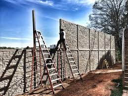 Home Stone Privacy Fence Creative On Home Intended For Outdoor Wood And Designs With Cedar 14 Stone Privacy Fence Fine On Home A Column And Wood Idea Fences Pinterest 21 Stone Privacy