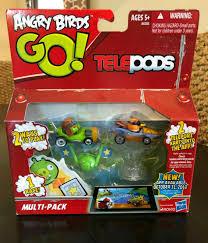 NEW Angry Birds Go! Telepods Kart Multi-Pack Mustache Pig & Orange ...