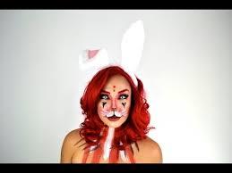 white rabbit makeup tutorial