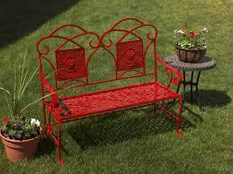 refurbished metal garden bench project