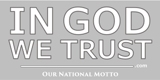 In God We Trust America S Motto Window Decal Congressional Prayer Caucus Foundation