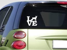 Rat Terrier Love 6 Sticker Decal Decker Squirrel Rattie Teddy Hunting Window Sticker Stickers Aliexpress