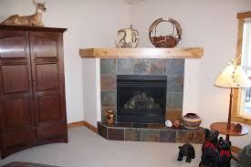 slate with unpainted mantel shelf
