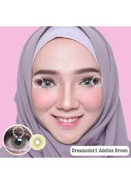 Dreamcolor1 Adeline Brown Softlens | Zilingo Shopping Singapore