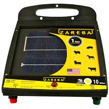 Zareba 10 Mile Solar Powered Electric Fence Charger Esp10m Z Zarebasystems Com