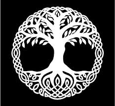 Celtic Tree Of Life Vinyl Decal Car Window Laptop Tree Of Life Sticker Kandy Vinyl Shop