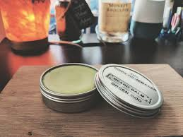 his whiskers with a diy beard balm