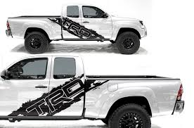 Toyota Tacoma 2005 2020 Custom Half Side Decal Truck Wrap Trd Side