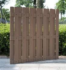 wpc decorative garden fencing