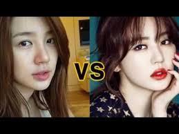 top 10 kpop stars without makeup vs