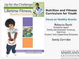ppt nutrition and fitness curriculum