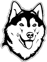 Amazon Com Siberian Husky Vinyl Sticker Decal Dog Breed Sticker For Tumblers Laptops Car Windows Husky Dog Sticker Kitchen Dining