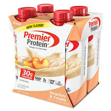 premier protein shake peaches cream